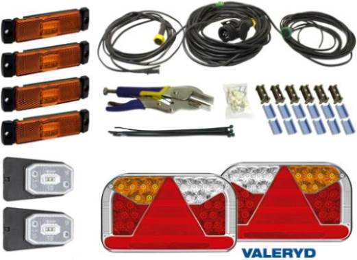 Per saperne di più Impianto elettrico e illuminazione del rimorchio